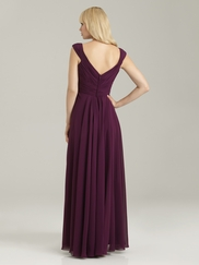 Off The Shoulder Ruched Allure Bridesmaid Dress 1334
