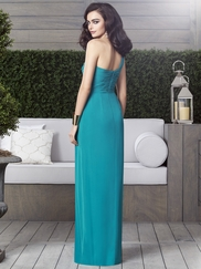One Shoulder Ruched Bridesmaid Dress Dessy 2905