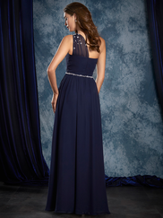 Sapphire Alfred Angelo 8109L One Shoulder Bridesmaids Dress