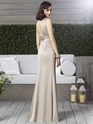 Scoop Neckline With Empire Waist Bridesmaid Dress Dessy 2901