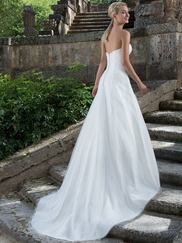 Sincerity 3895 Sweetheart Ruched Wedding Dress