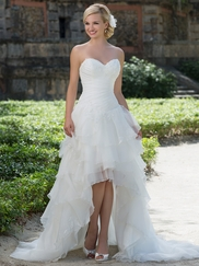 Sincerity 3900 Sweetheart Ruched Wedding Dress
