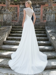 Sincerity 3905 Sweetheart Ruched Wedding Dress