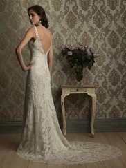 Sophisticated and Sexy Allure Bridal Gown 8856