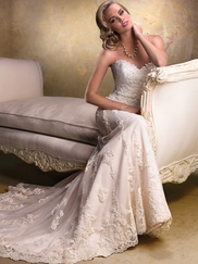 Strapless Sweetheart Wedding Gown Maggie Sottero Emma