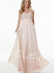Sweetheart Beaded Pretty Maids Bridesmaids Dress 22613