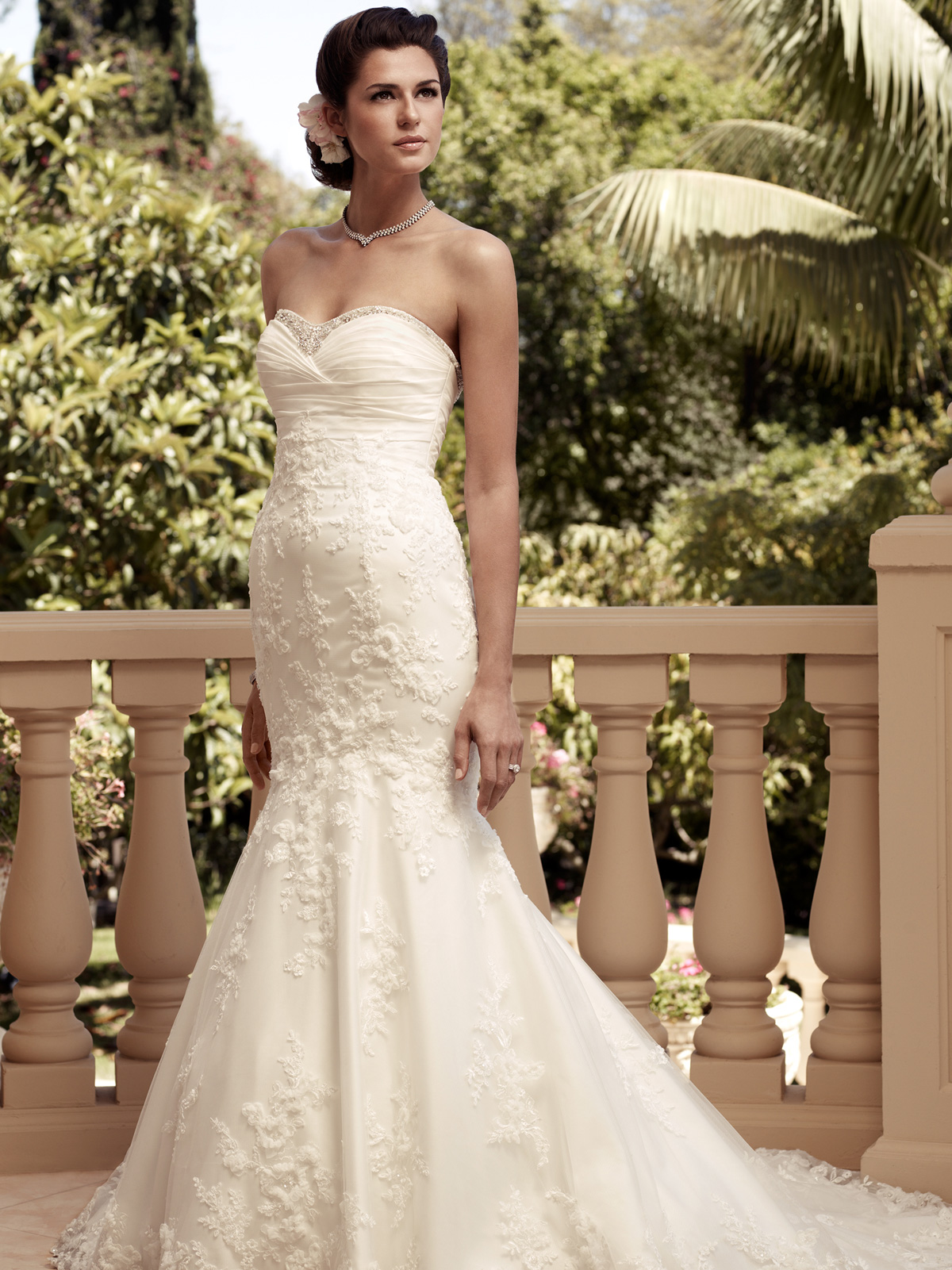 Sweetheart Trumpet Casablanca Bridal Gown 2115