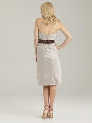 Sweetheart Fitted Bodice Allure Bridesmaid Dress 1329