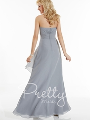 Sweetheart Gathered Pretty Maids Bridesmaids Dress 22616