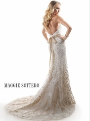 Sweetheart Lace Bridal Gown Maggie Sottero Britannia