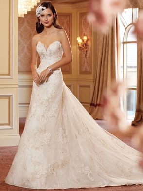 Sweetheart Lace Bridal Gown Sophia Tolli Septa Y11417