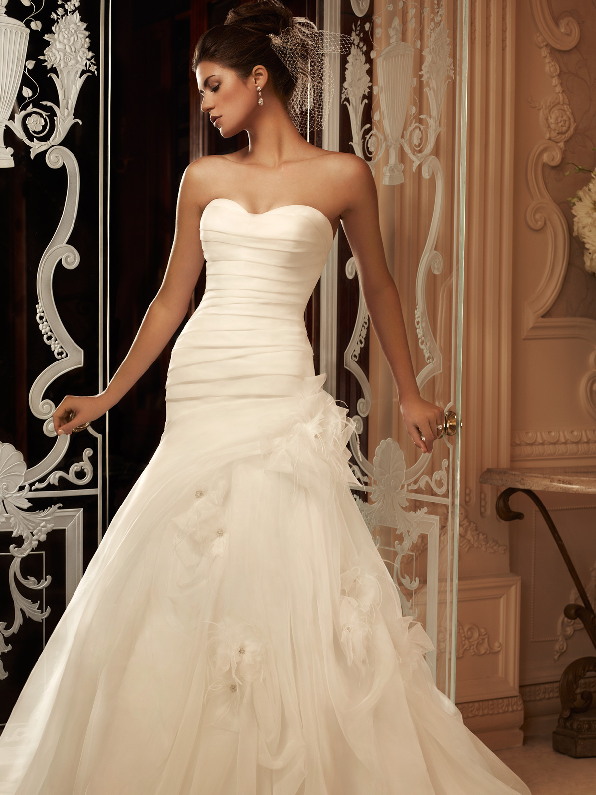 Sweetheart Fit And Flare Casablanca Bridal Gown 2105