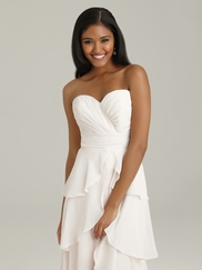 Sweetheart Ruched Allure Bridesmaid Dress 1328