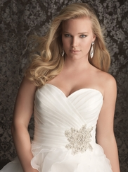 Sweetheart Ruched Bridal Gown Allure Women W314