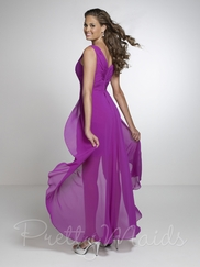 Tank Straps Empire Pretty Maids Bridesmaid Dress 22533