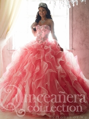 Tiffany 26807 Quinceañera Collection Corset Bodice Ball Gown