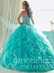Tiffany 26815 Quinceañera Collection Beaded Bodice Ball Gown