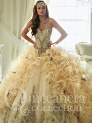 Tiffany 26819 Quinceañera Collection Beaded Bodice Ball Gown