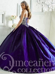 Tiffany 26823 Quinceañera Collection Beaded Bodice Ball Gown