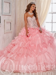 Tiffany 26824 Quinceañera Collection Beaded Bodice Ball Gown