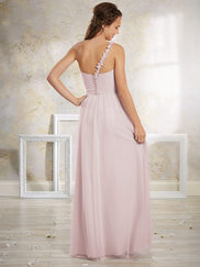 Vintage Alfred Angelo 8632L One Strap Bridesmaids Dress