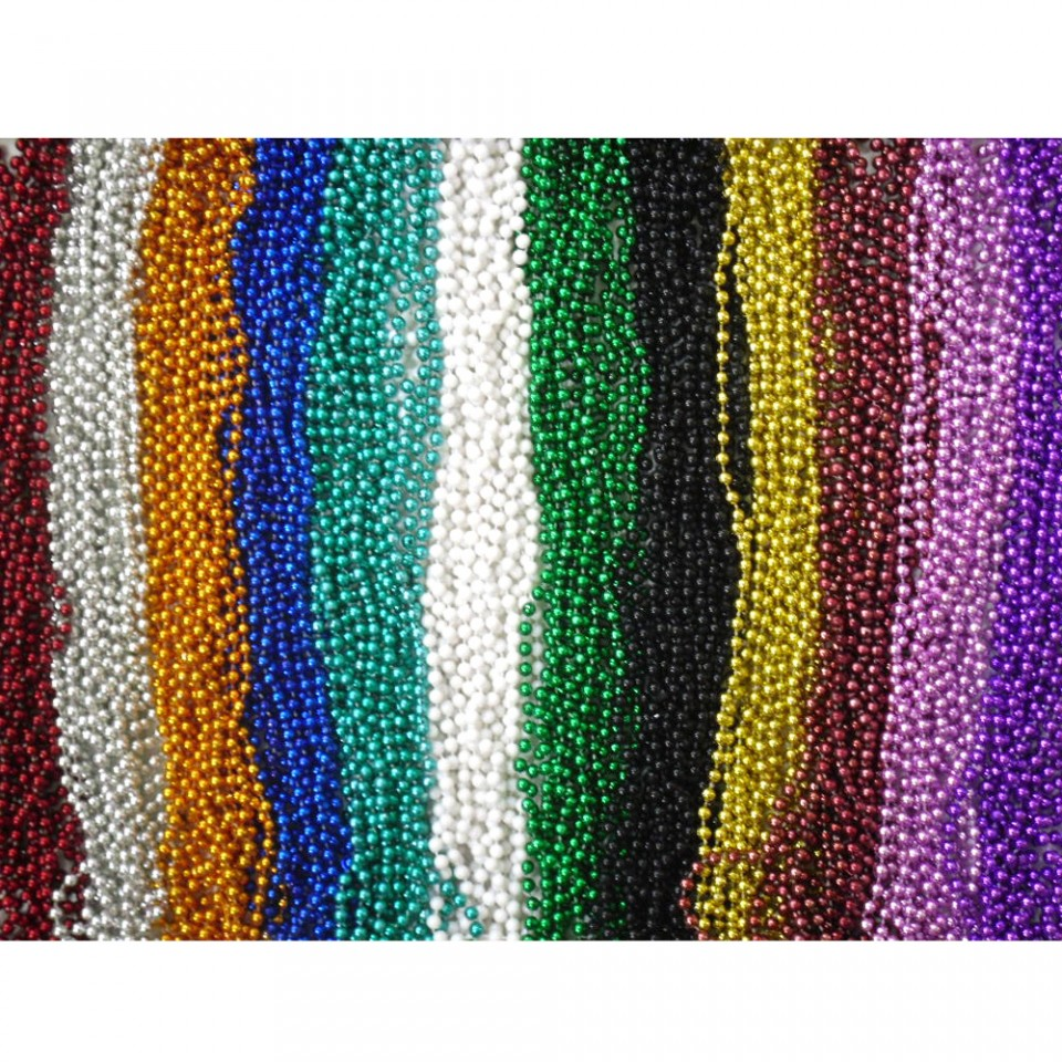 Mardi Gras Beads Bulk Lot Necklaces Free Shipping Party Favors Multi-color. Brand New · Mardi Gras Beads Lot. out of 5 stars. Multi Color Mardi Gras Beads Necklaces Party Favors Big Lot Free Shipping. Brand New. out of 5 stars.