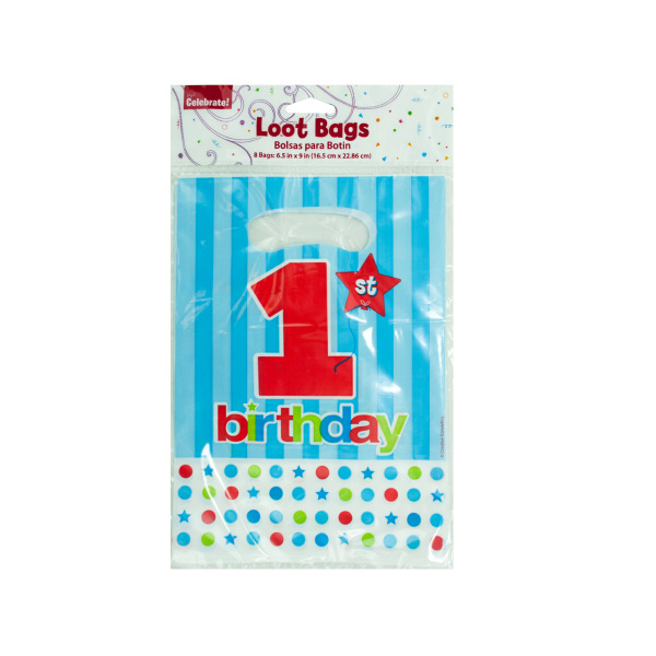 1st Birthday Loot Bags