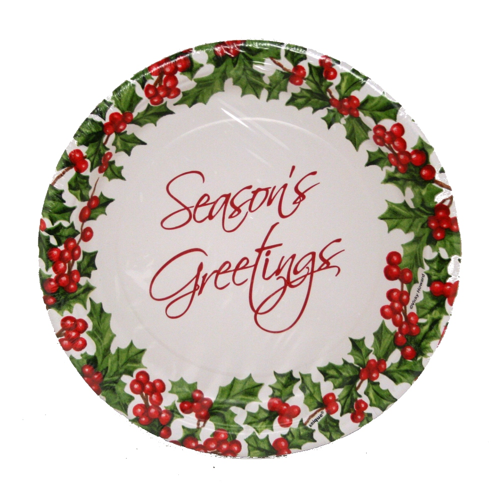 holiday paper plates Christmas tableware party supplies can be a fun and exciting way to make your christmas party festive and colorful without breaking your budget holiday plates cups and napkins are just party of the festive christmas décor - partypro is your source for holiday and christmas parties.