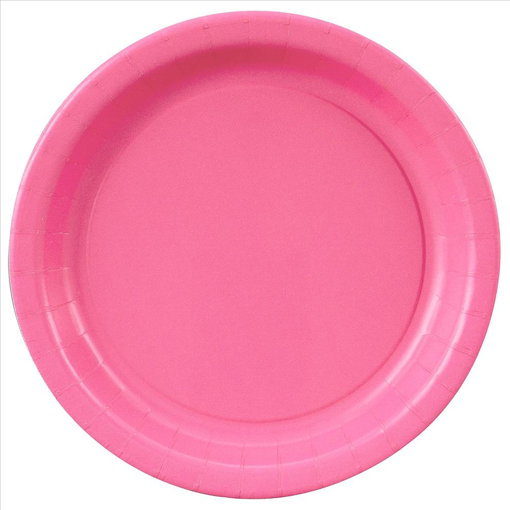 Breast cancer awareness paper plates