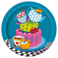 Alice in Wonderland Tea Party Tableware