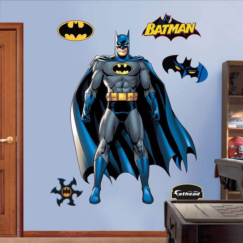 batman fathead batman wall decal batman laptop stickers trendy wall