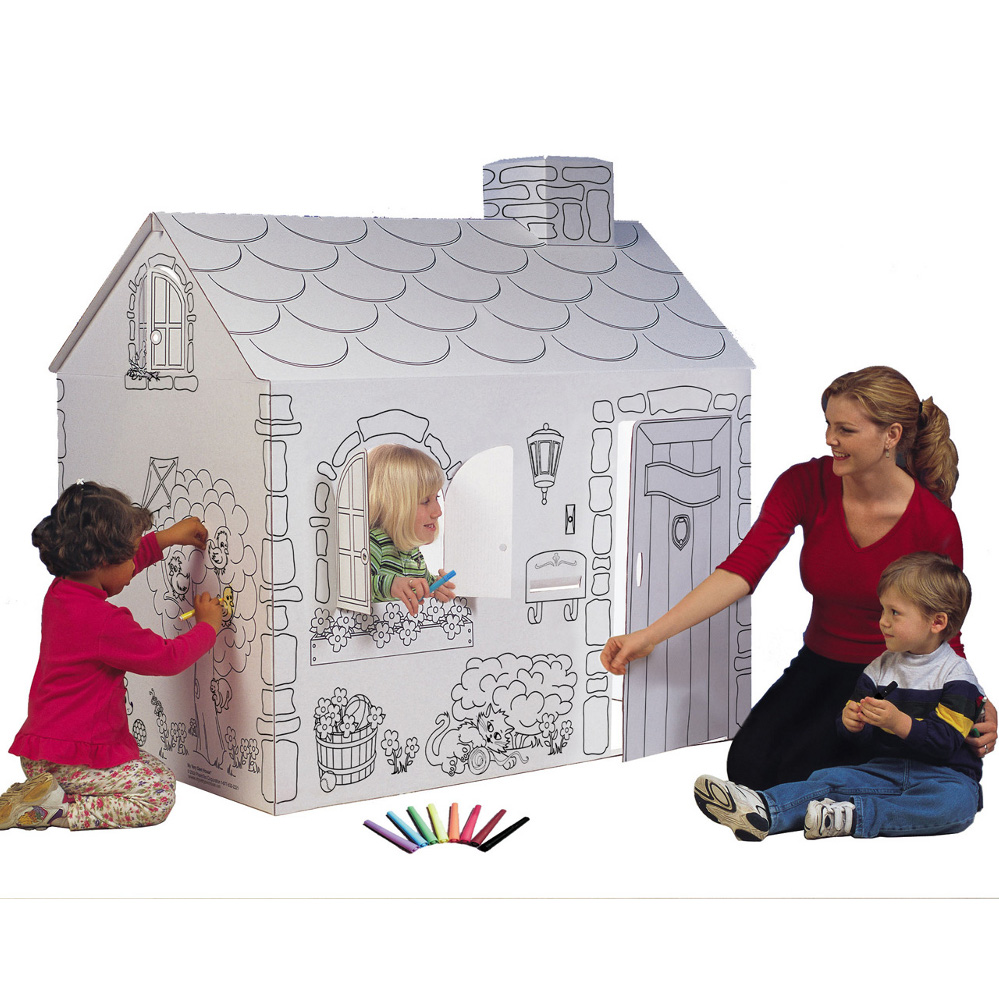 HD wallpapers kids coloring playhouse