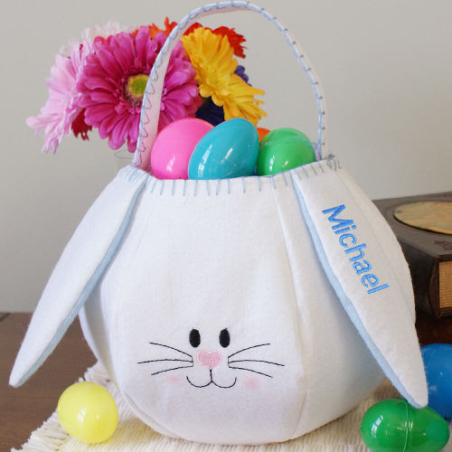 Pro Gift Source Easter Gift Basket Blue Bunny at Sears.com