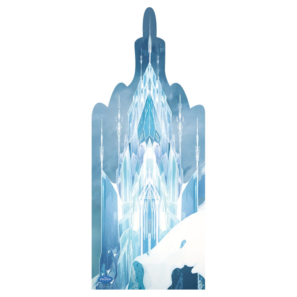 Frozen Ice Castle Cardboard Cutout