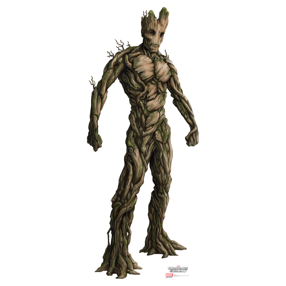 Guardians Of The Galaxy Groot Cardboard CutoutGuardians Of The Galaxy Characters Groot