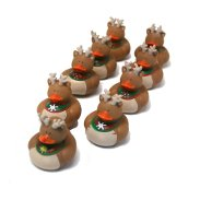 Holiday Themed Rubber Ducks