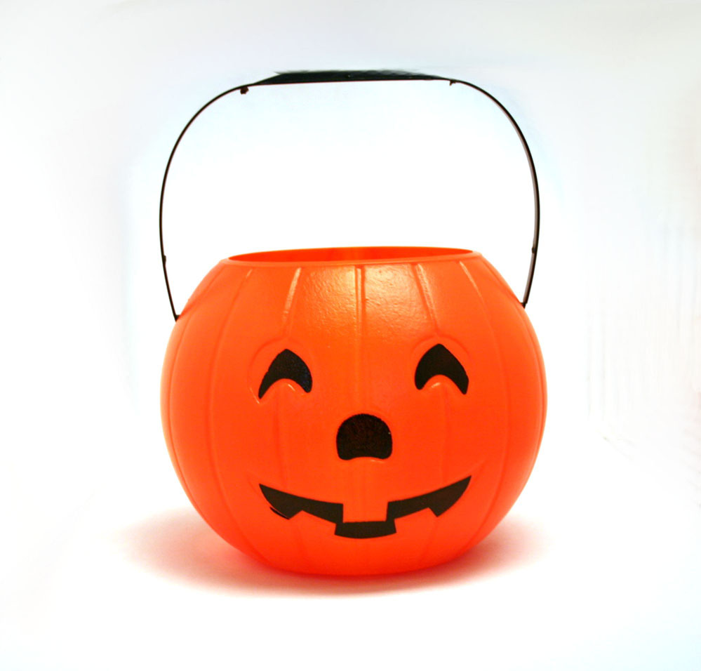 JackOLantern Candy Bucket