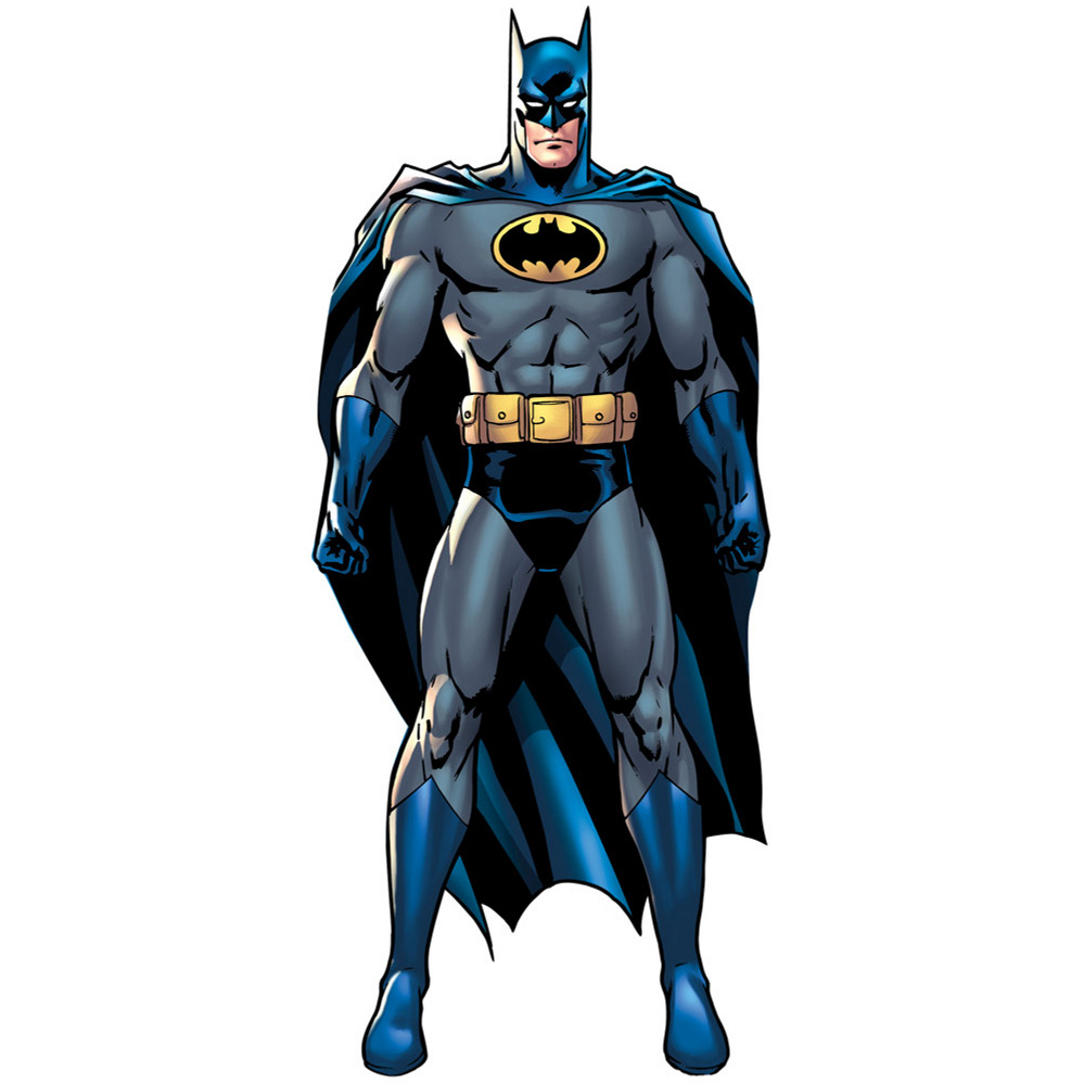 Lifesized Batman Cartoon Standup on Bat Crafts For Kids
