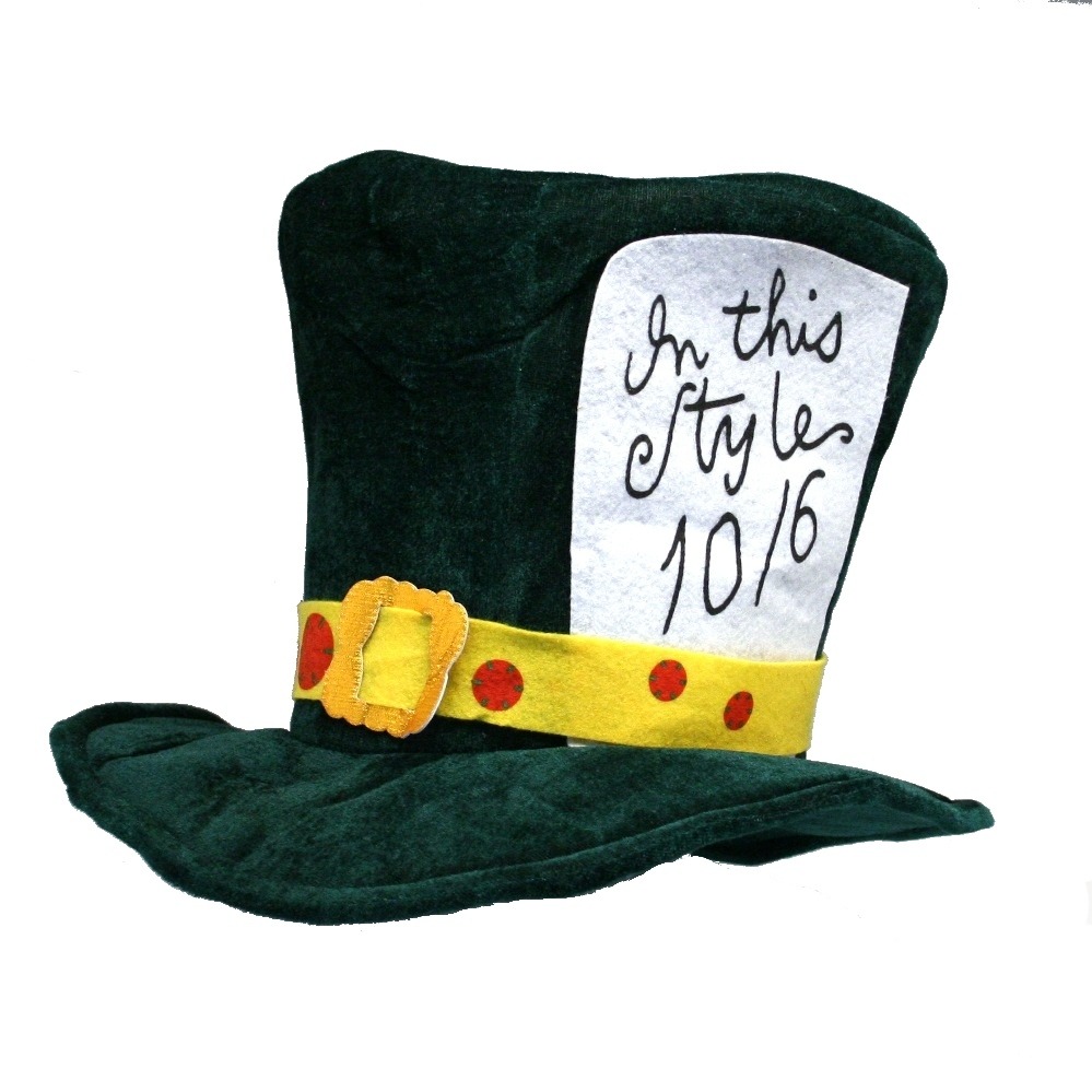 the gallery for gt mad hatter hat burton drawing
