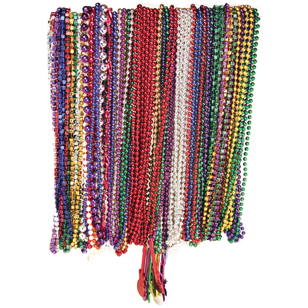 Mardi Gras Beads & Necklaces