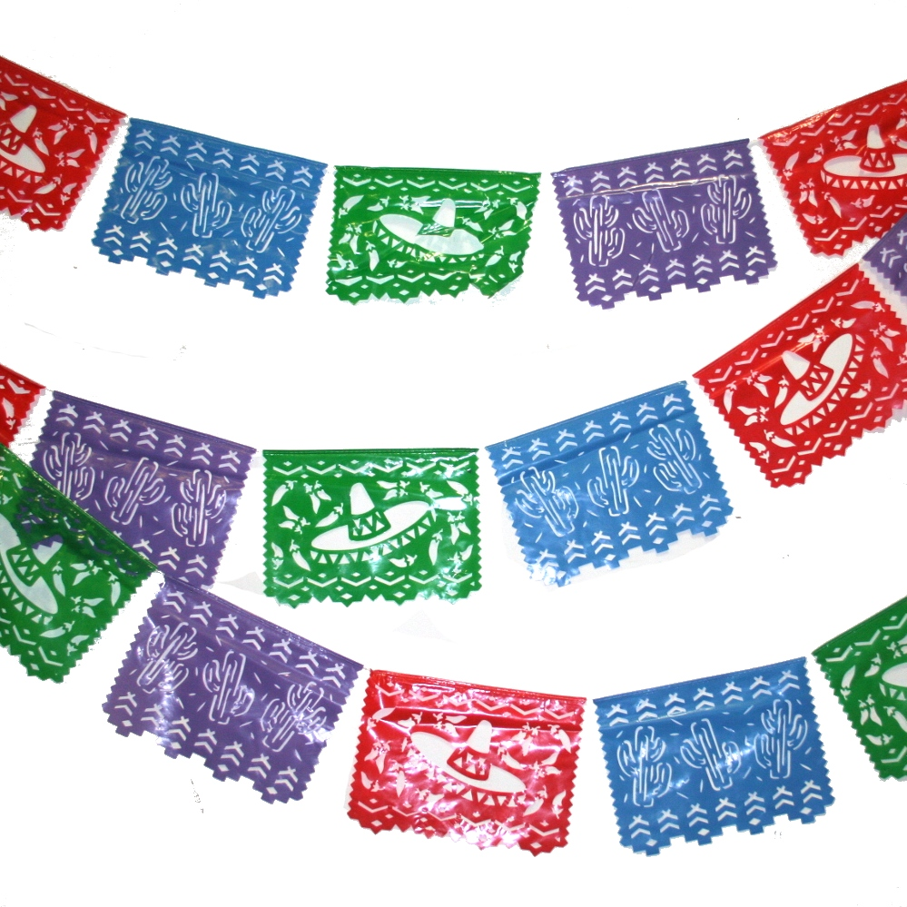 mexican paper banners