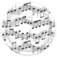 Music Themed Tableware