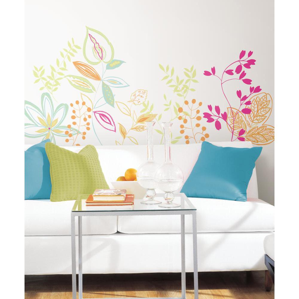 riviera peel and stick giant wall decal dandelion peel and stick giant wall decal