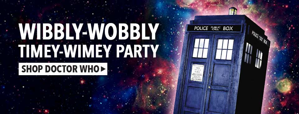 Shop Doctor Who Party Supplies