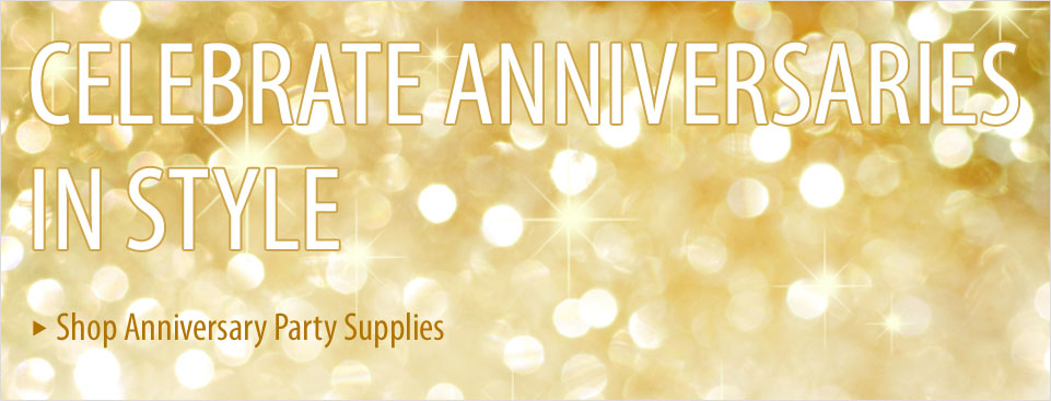Shop 50th Anniversary Party Supplies