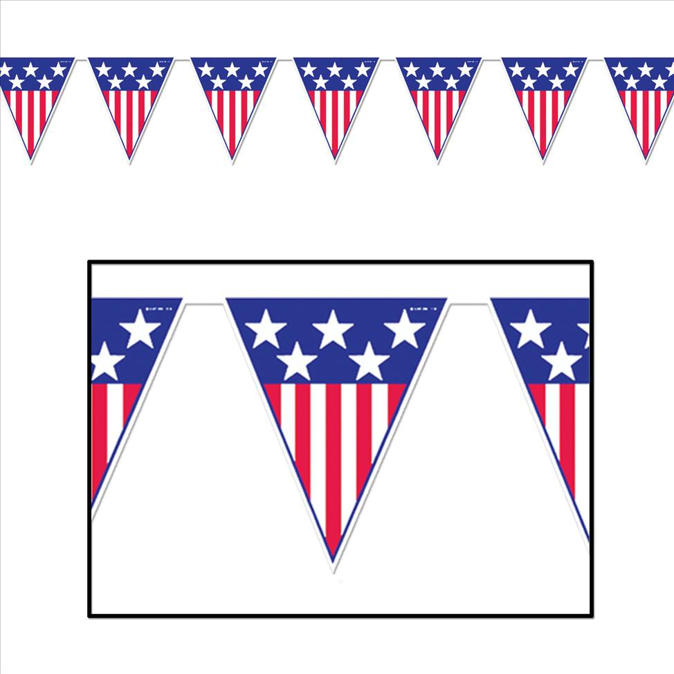 Stars And Stripes Cake Decorations