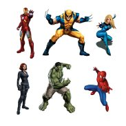 Superhero Wall Graphics & Decals