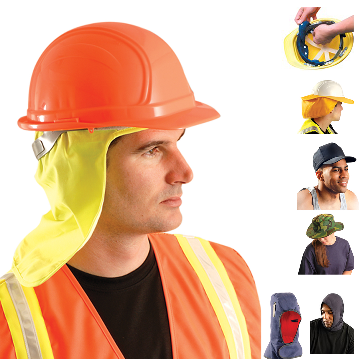 Best Work Gloves >> Head Protection
