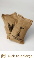 2 lb. Big & Yellow Gourmet Popping Corn in Burlap Sack