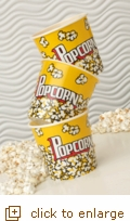 3-Ct. Small Yellow Popcorn Tubs